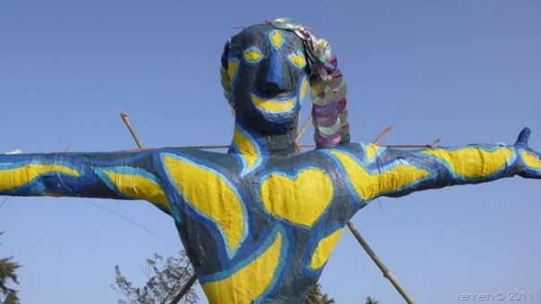 The carnival in Arambol take place in February each year and are a must if you're in Goa